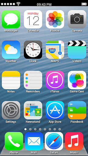 Ios 7 Launcher : launcher, Launcher, Theme, Android, Download, Phone, Tablet