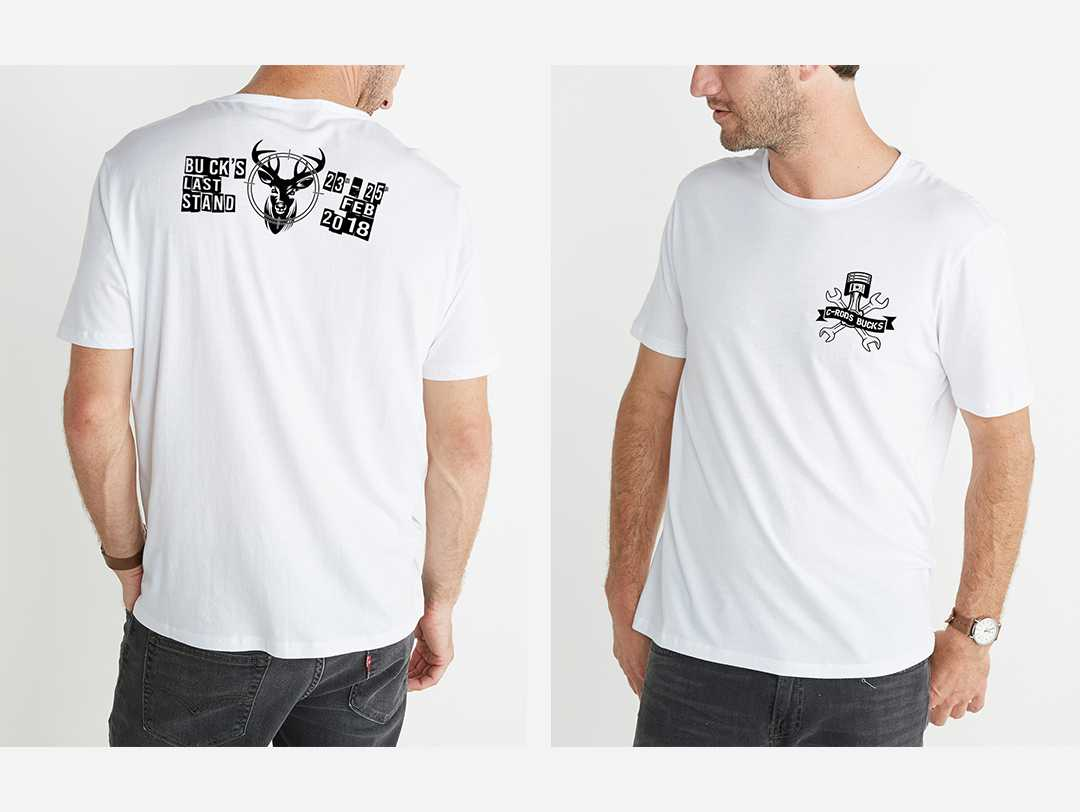 Bucks Party T Design