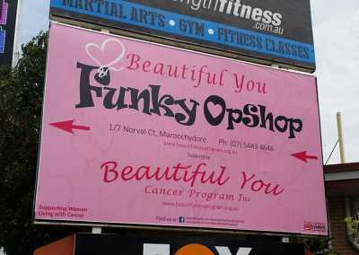 Beautiful You Sign Design