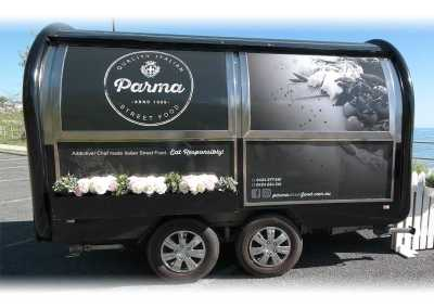Signwriting Design Food Van