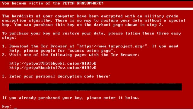 Petya Virus