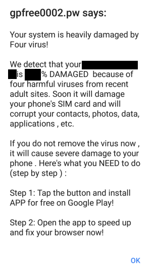 Four \u201cVirus\u201d Android Removal | Mobile Security Zone