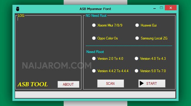 ASB Myanmar Font