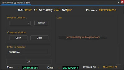 Magway IT Samsung FRP Helper Tool
