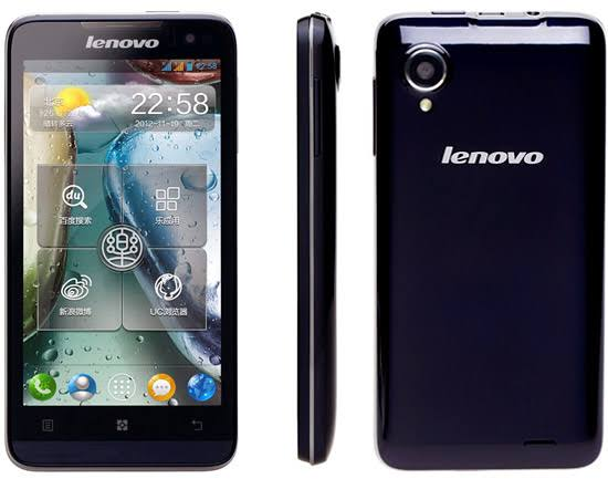 Lenovo P770 Stock Firmware Flash File