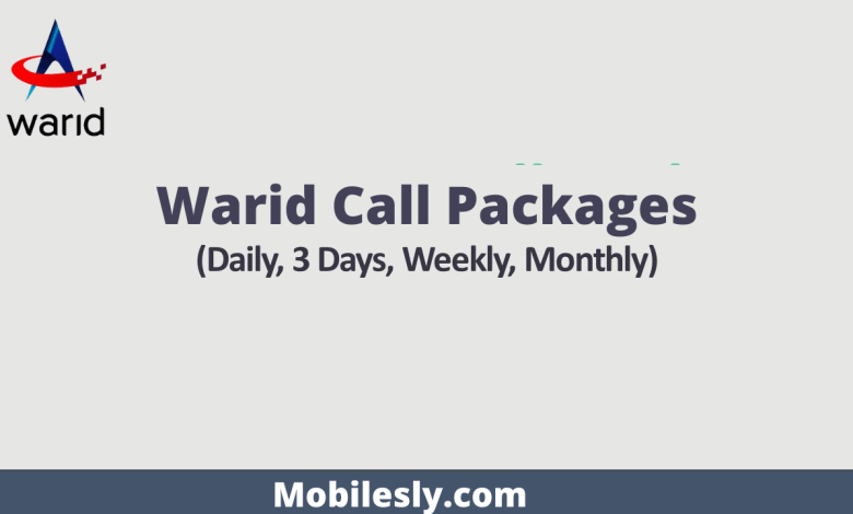 Photo of Latest Warid Call Packages
