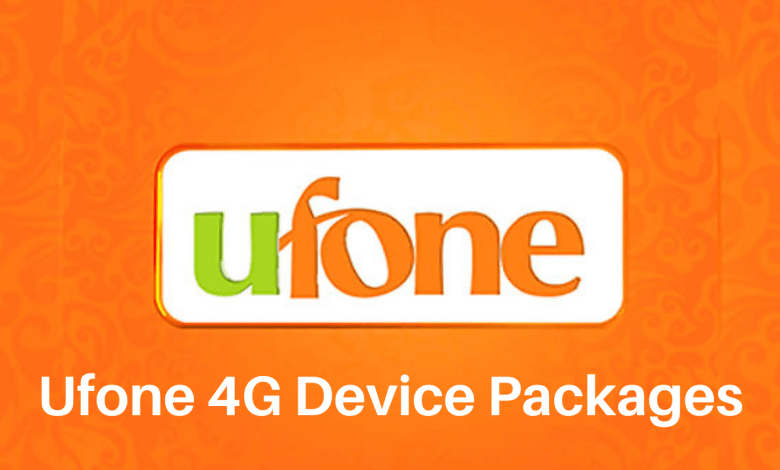 Photo of Ufone 4G Device Packages