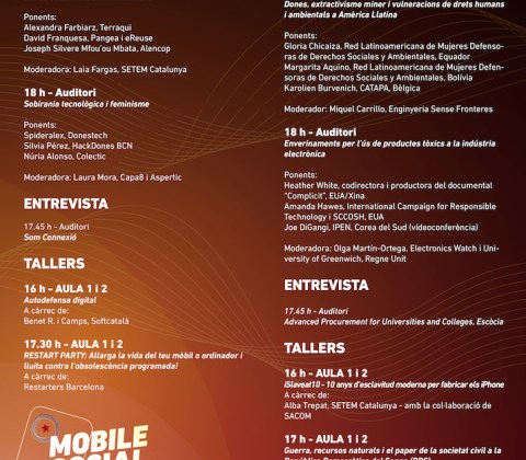 See the Program of the 2018 Mobile Social Congress