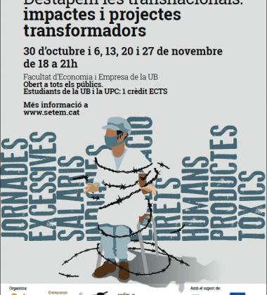 Curs interuniversitari 'Destapem les transnacionals, impactes i projectes transformadors'