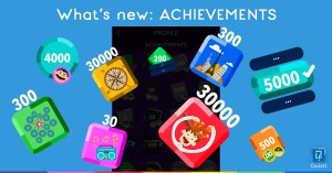 Quizit. What's new: Achievements.