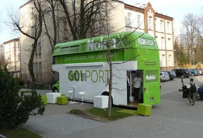 Autobus z Nokia X i XL w Warszawie – Relacja