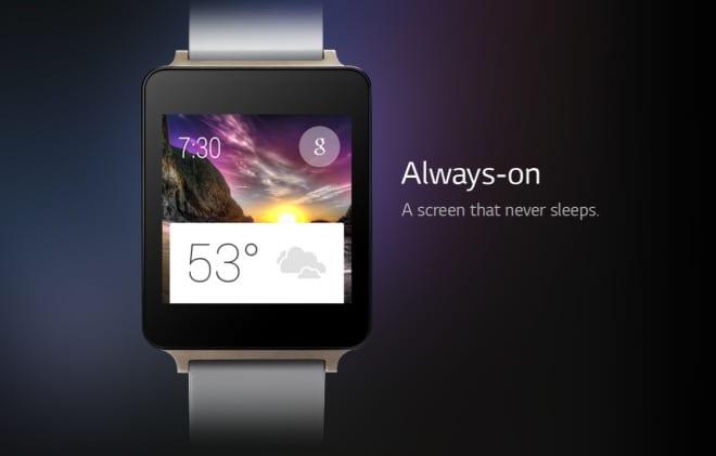 Wyciekła specyfikacja techniczna LG G Watch