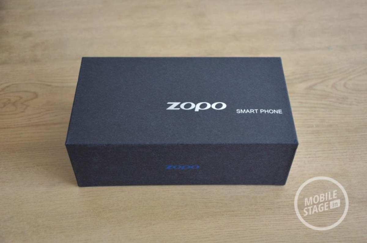 Zopo ZP700 Pudełko