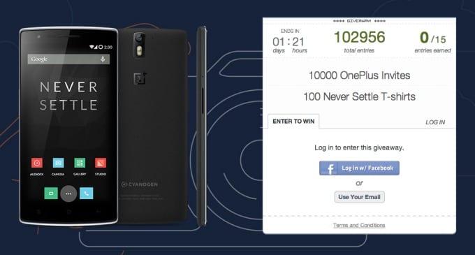 10 000 sztuk OnePlus One do zgarnięcia