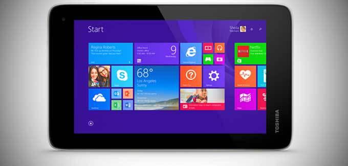 [IFA 2014] Toshiba Encore Mini – 7-calowiec z Windows 8.1
