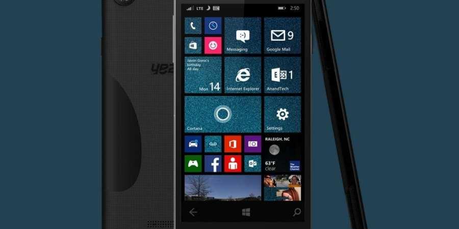 Yezz Billy 5S LTE – nowy smartfon z systemem Windows Phone