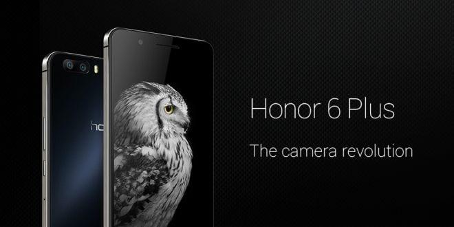 Huawei Honor 6 Plus już dostępny w sprzedaży
