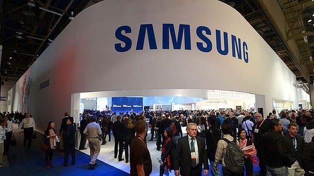 Dochody firmy Samsung powoli rosną