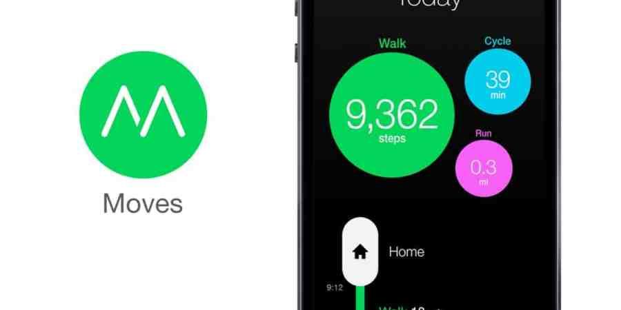 Moves – aplikacja, która policzy Twoje kroki