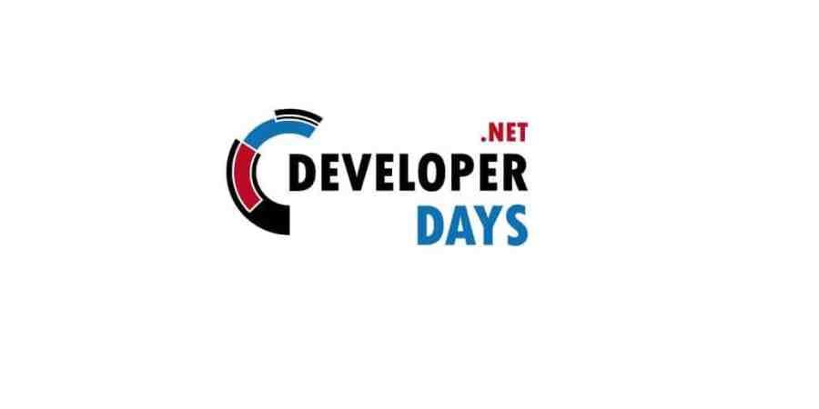 .NET DeveloperDays | 18-20 października 2017 | Warszawa
