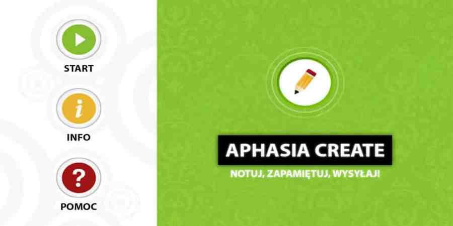 Aphasia Create – polska aplikacja na pomoc afatykom