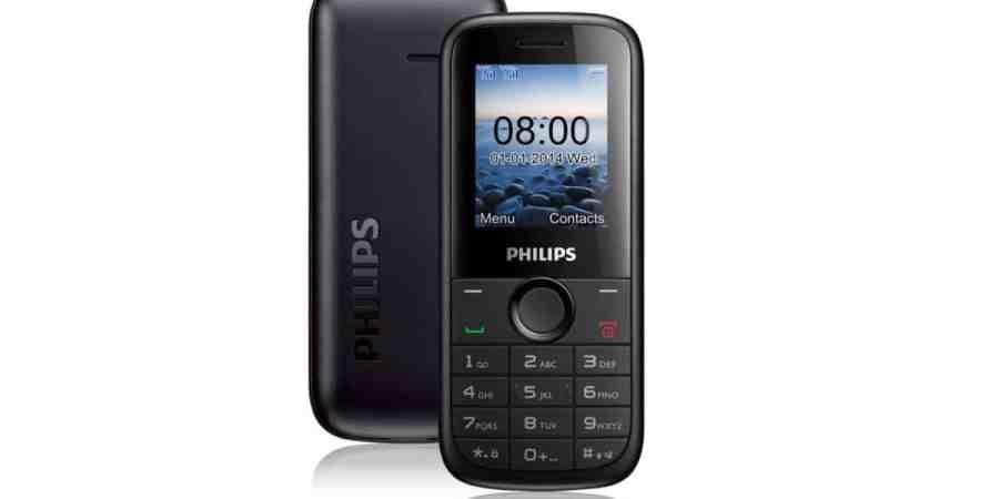 Philips E120 – tani telefon dla hejterów smartfonów