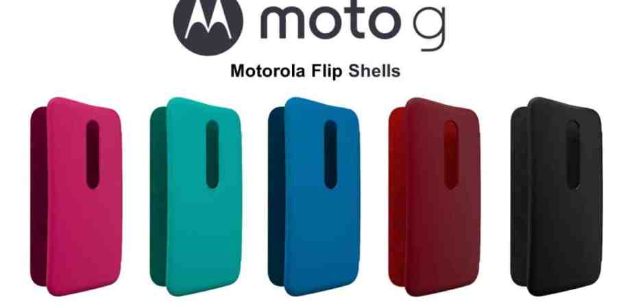 Moto Shells i Flip Shells – wymienne obudowy dla Moto G