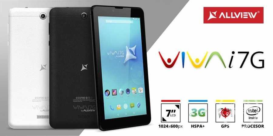 Allview prezentuje tablet Viva i7G z procesorem Intel SoFIA 3G-R