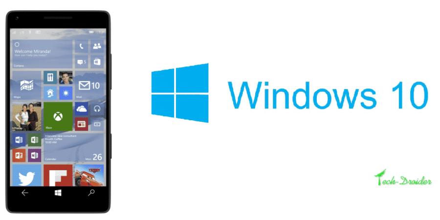 Aktualizacja Windows 10 dla smartfonów przesunięta