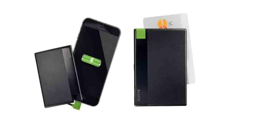 Kompaktowa ładowarka do Iphone'a od Leitz Complete