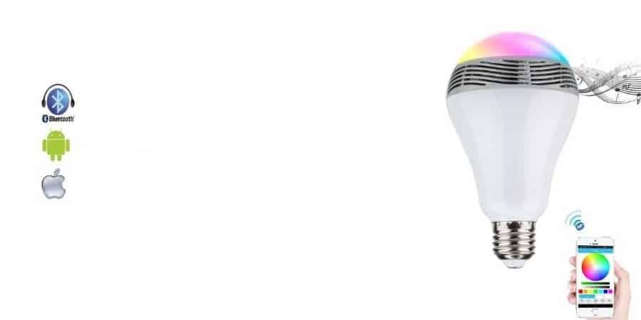 Żarówka bluetooth jako mobilny głośnik