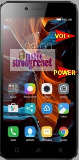 How To Hard Reset Lenovo Vibe K5 mobile strong reset