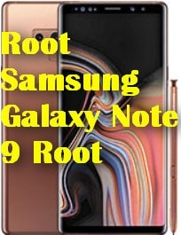 Samsung Galaxy Note 9 Root
