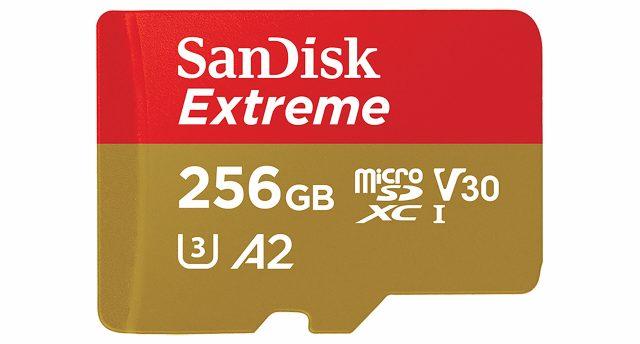 SanDisk 256GB SDXC Card