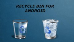 recycle bin for android. dumpster android. trashbin for android. data recover android