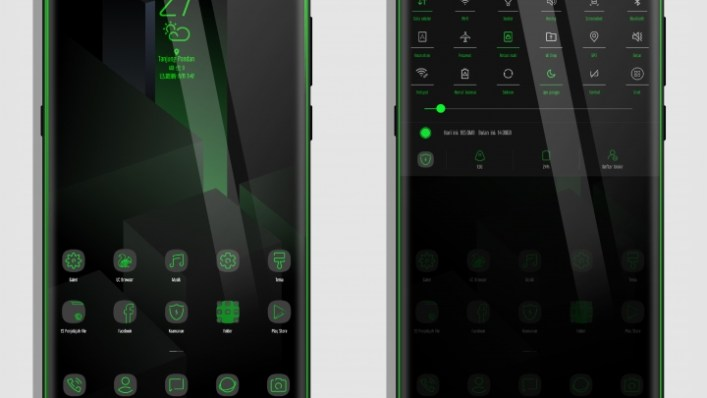 Black Shark S9 Magical Green MIUI 9 Theme - Mobile Tech 360