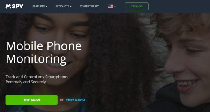 Spyware for smartphones
