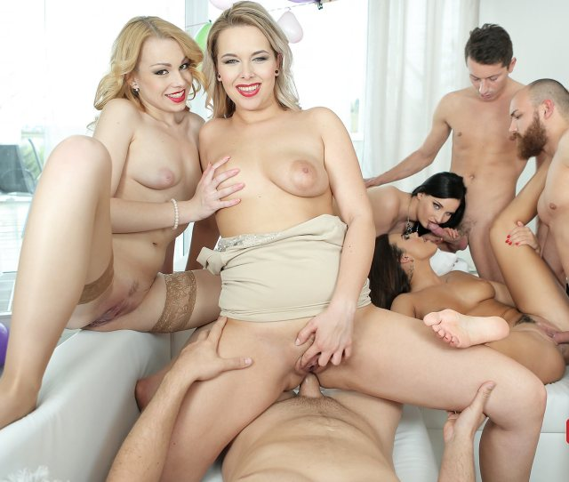 Reality Lovers Birthday Party Is An Orgy