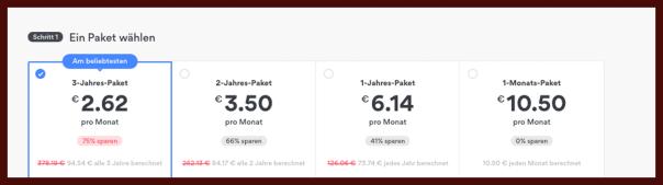 NordVPN Pakete: Test