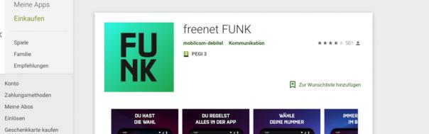 Freenet Funk: Google Play