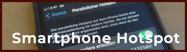 Smartphone Hotspot