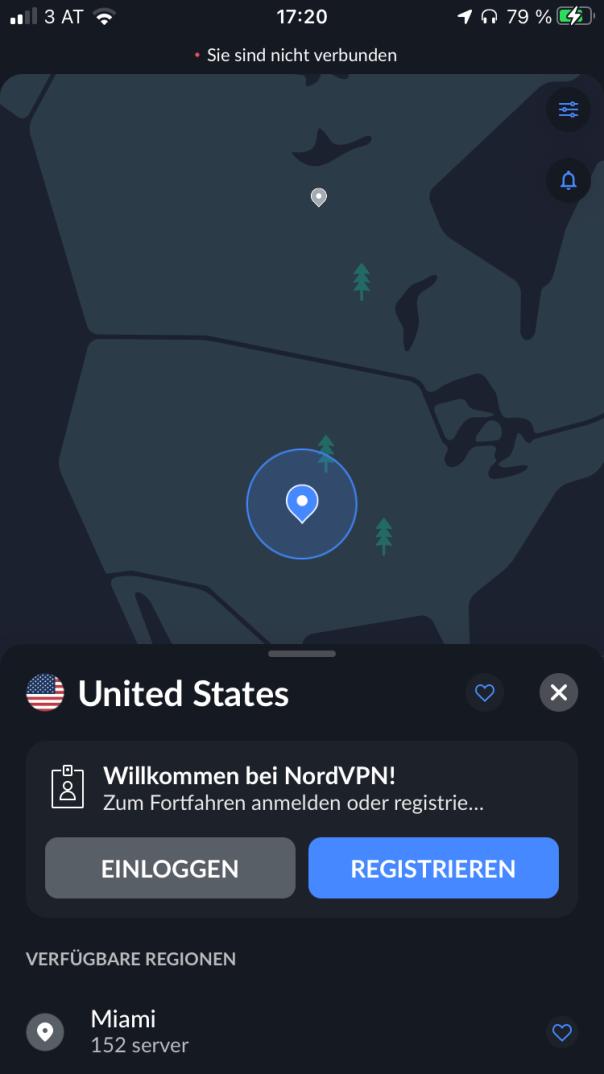 VPN Screenshot
