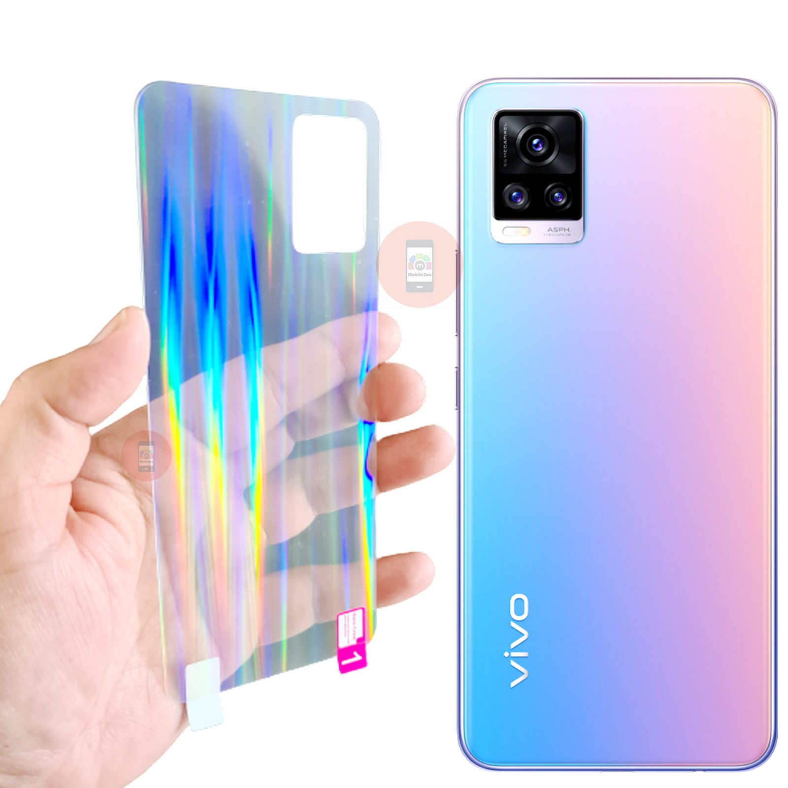 Vivo V20 Back Protector Screen Guard Protection
