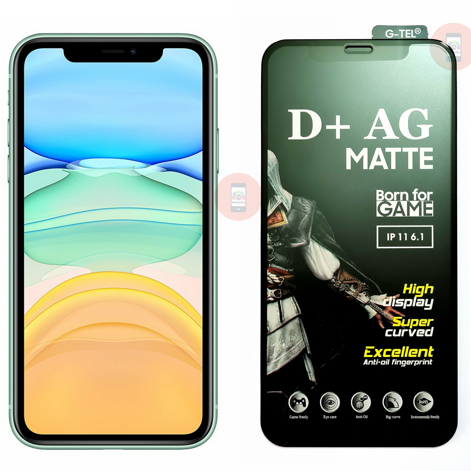 iPhone 11 Matte Tempered Glass Screen Protector