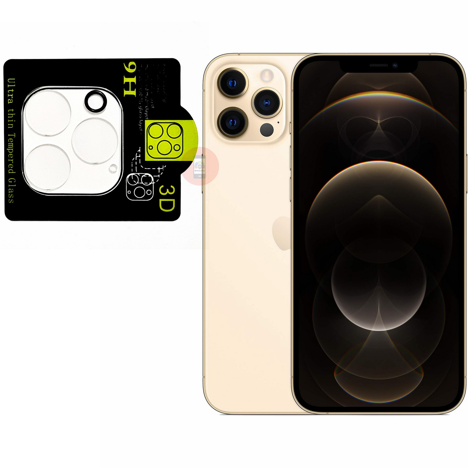 iPhone 12 Pro Max Camera Lens Protector Full Cover Tempered Glass
