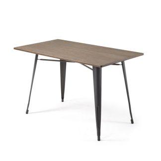 Mesa Comedor Malira 150 x 80 cm antracita