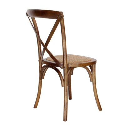 Silla Thonet Apilable Marrón