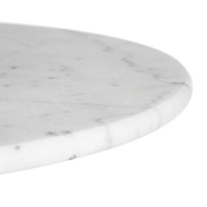Detalle Mesa Parisina Mármol Oval · 120cm