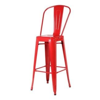 Taburete Tolix Style HB Rojo