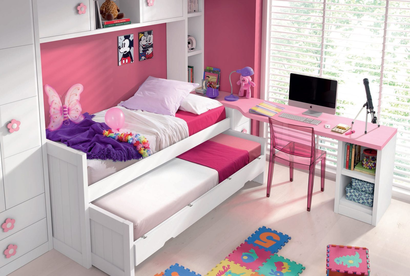 Mueble juvenil 989 161 mueble juvenil guarpi tienda de muebles muebles al - Mobiliario juvenil barcelona ...